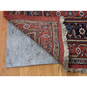 "14'6""x19' Antique Persian Bijar Pure Wool Exc Condition Pure Wool Hand-Knotted Oriental Rug FWR269256"