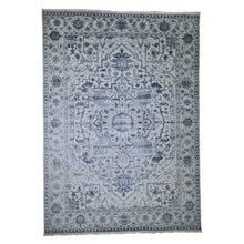 Load image into Gallery viewer, Handmade Heriz Grey Rug