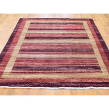 "Load image into Gallery viewer, 5'4""x7'8"" On Clearance Pure Wool Peshawar Gabbeh Hand Knotted Oriental Rug FWR270336"