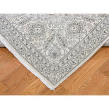 "Load image into Gallery viewer, 8'10""x12' Pure silk Tone on Tone Hand Knotted Oriental Rug FWR270726"