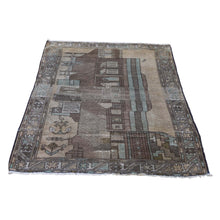 Load image into Gallery viewer, Handmade Tribal and Geometric Green Rug