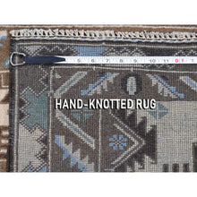"Load image into Gallery viewer, 2'9""x4'6"" Vintage Afghan Baluch Natural Colors Hand-Knotted Pure Wool Oriental Rug FWR271290"