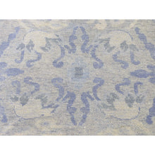 "Load image into Gallery viewer, 8'x9'10"" Modern Light Blue Tone on Tone Pure Wool Hand-Knotted Oriental Rug FWR272232"
