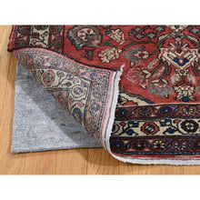 "Load image into Gallery viewer, 3'4""x4'8"" Vintage Bohemian Persian Mahal Pure Wool hand-Knotted Oriental Rug FWR272622"
