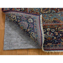 "Load image into Gallery viewer, 4'4""x6'5"" Antique Persian Isfahan Good Condition Pure Wool Hand-Knotted Oriental Rug FWR274512"