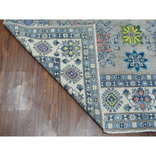 "Load image into Gallery viewer, 8'x9'9"" Colorful Fusion Kazak Pure Wool Hand-Knotted Oriental Rug FWR303474"
