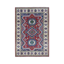Load image into Gallery viewer, Handmade Kazak Red Rug