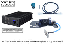 Load image into Gallery viewer, EPS-01 Mark II GAE - Upgraded linear power supply for Technics SL-1210 GAE