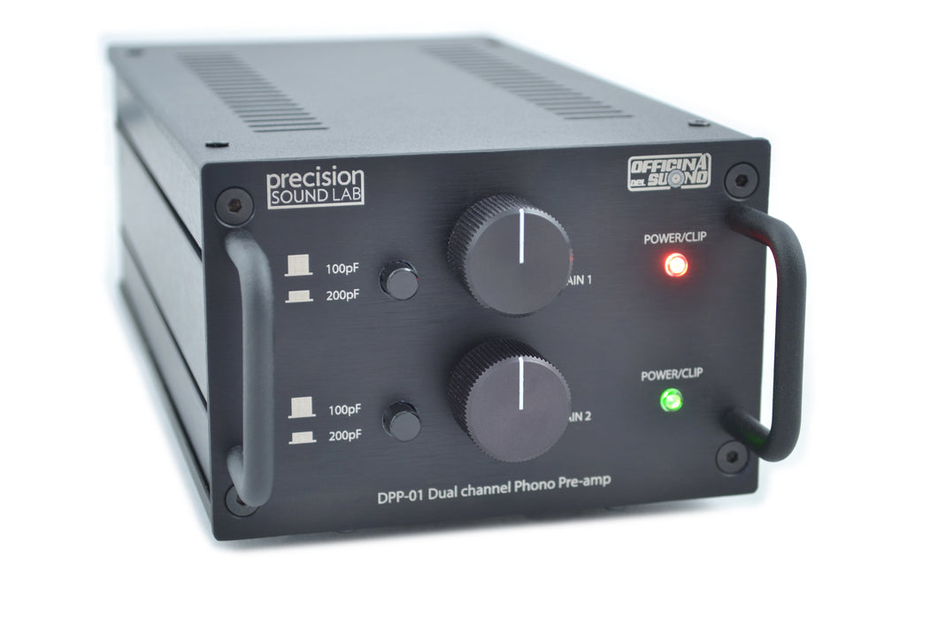 DPP-01 - Dual channel audiophile quality RIAA phono pre-amp