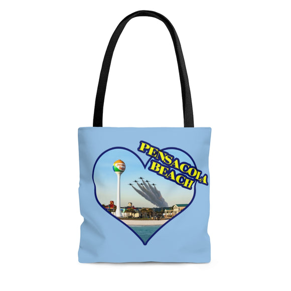 Tote Bag:  Love Pensacola Beach