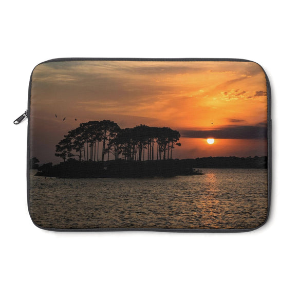 Laptop Sleeve: Island Orange Sunset