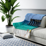 Sherpa Fleece Blanket:  Emerald Pensacola Beach
