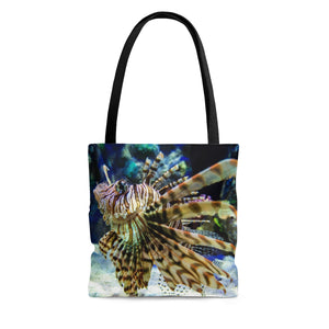 Tote Bag: Lionfish