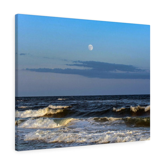 Canvas Wrap:  Beachside Moonlight