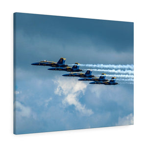 Canvas Gallery Wraps:  Blue Angels all Lined Up