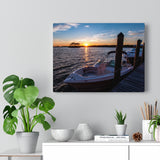 Canvas Wrap:  Dockside Sunset
