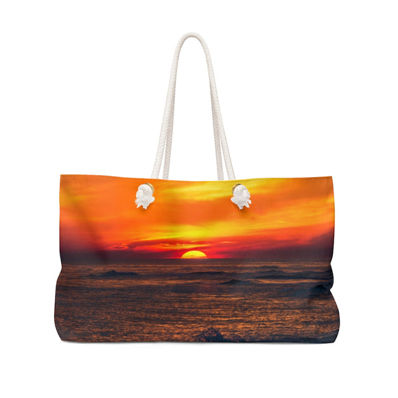 Weekender Bag:  Sunset on the Horizon