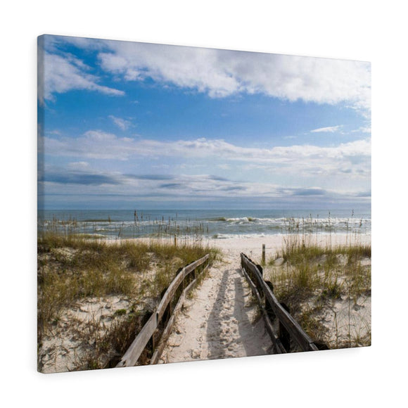 Canvas Wrap: Pathway to the Beach