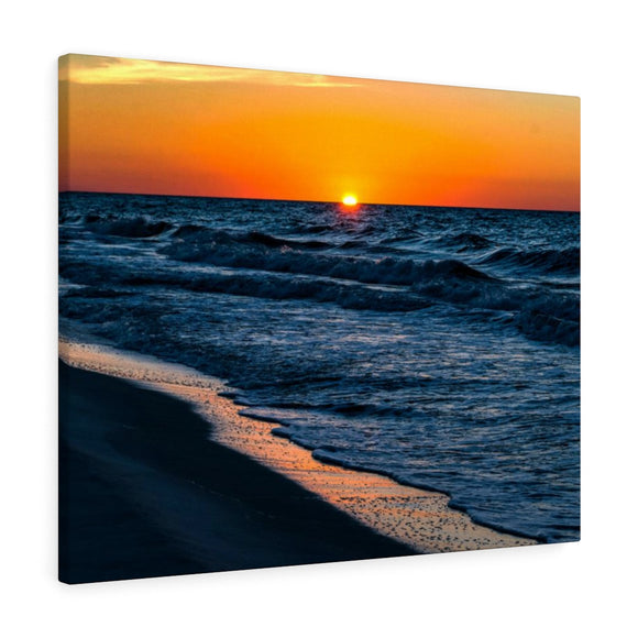 Canvas Wrap: Gulf Sunrise
