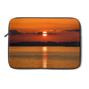 Laptop Sleeve: Orange Sunset