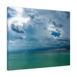 Canvas Wrap:  Rainstorm over the Gulf