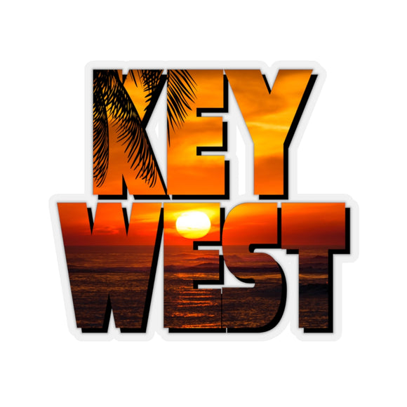 Sticker:  Key West Sunset