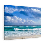 Canvas Wrap: Beach Waves