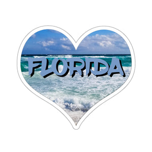 Sticker:  Love Heart Florida