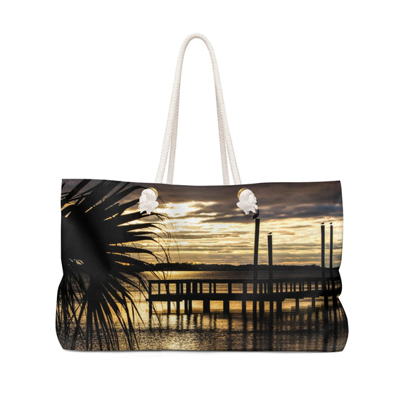 Weekender Bag: Palm Tree Sunset
