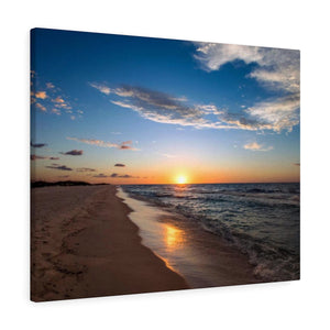 Canvas Wrap:  Sunrise on the Beach