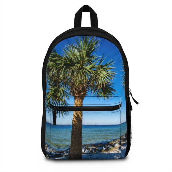 Backpack - Island Palm Tree