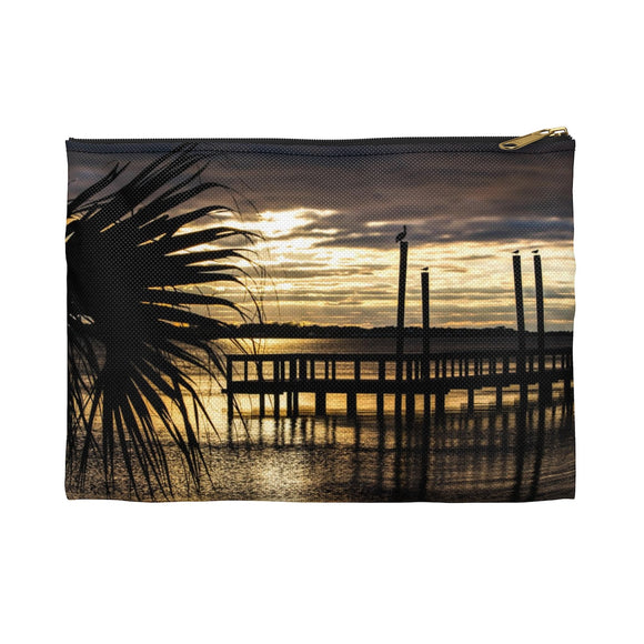 Accessory Pouch: Palm Tree Sunset