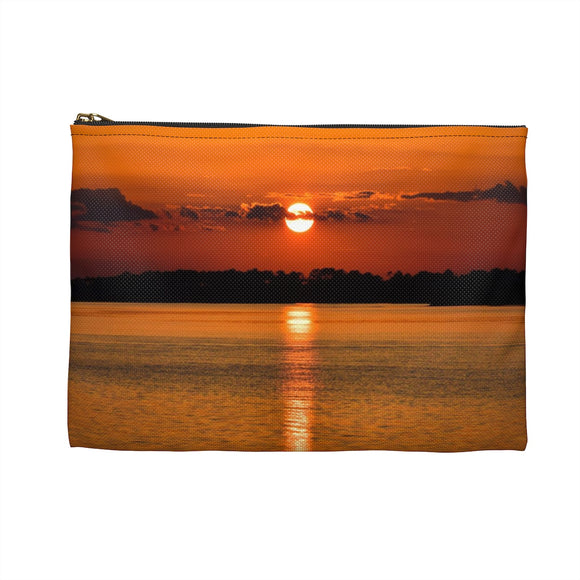 Accessory Pouch: Orange Sunset