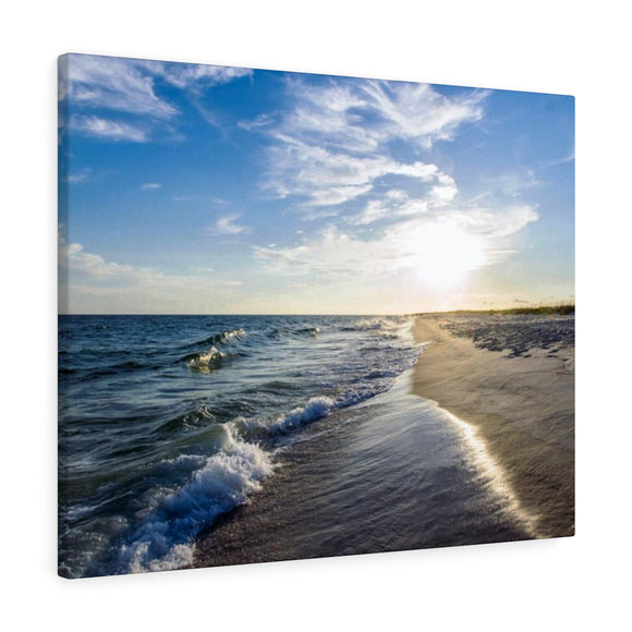 Canvas Wrap:  Sunshine and Waves