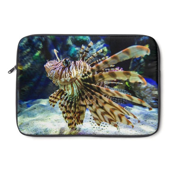Laptop Sleeve: Lionfish