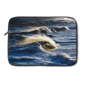 Laptop Sleeve: Ocean Waves
