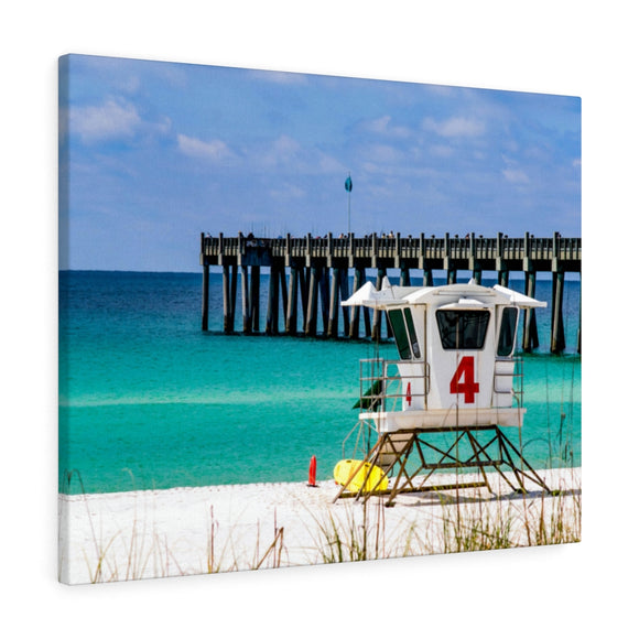 Canvas Wrap:  Emerald Pensacola Beach Pier