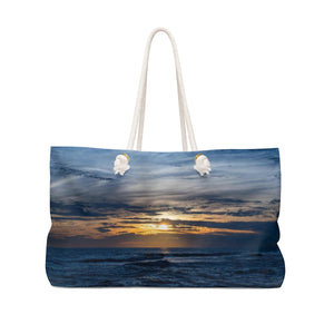 Weekender Bag: Gulf Waves at Sunset
