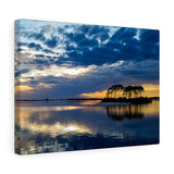Canvas Wrap: Island Sunset