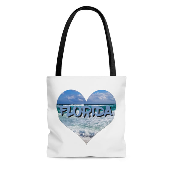 Tote Bag: Love Heart Florida