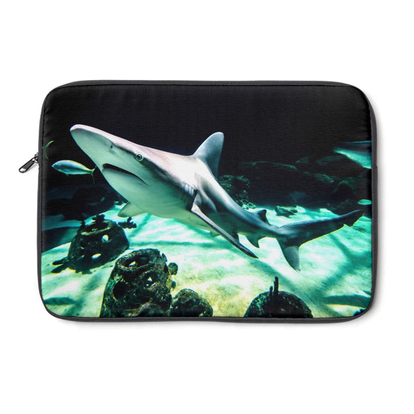 Laptop Sleeve: Shark in the Water!