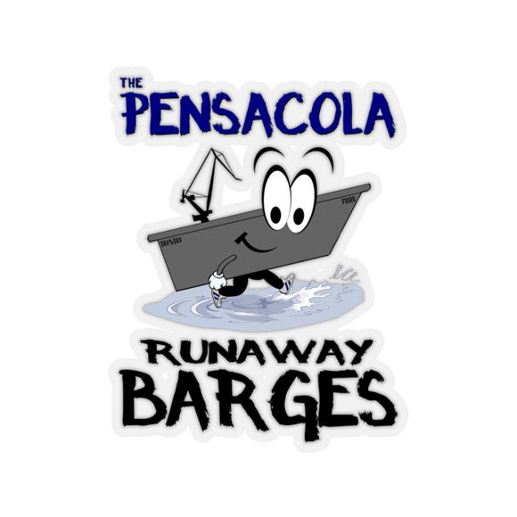 Stickers:  Pensacola Runaway Barges