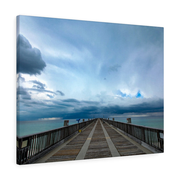 Canvas Wrap: Gulf Coast Pier