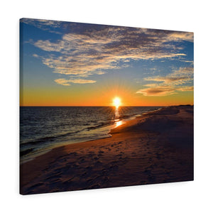 Canvas Wrap: Gulf of Mexico Sunset