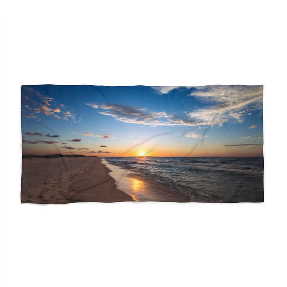 Beach Towel:  Sunrise on the Beach