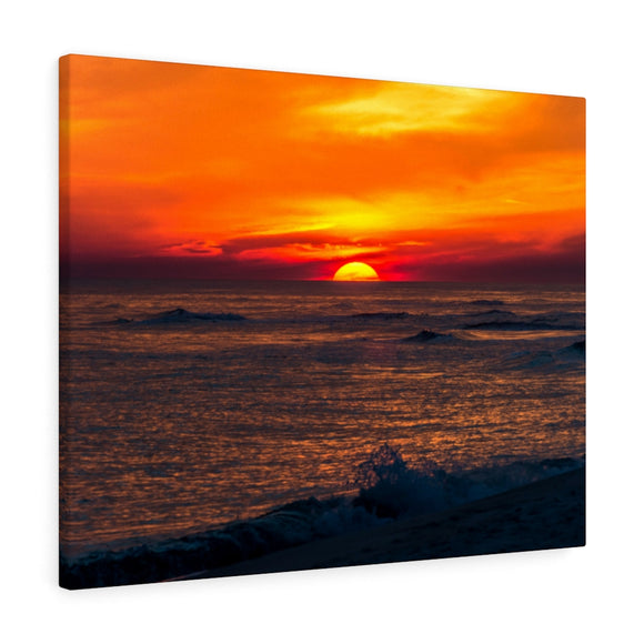 Canvas Wrap:  Sunset on the Horizon
