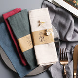 Set of 2, pure cotton hand woven napkins