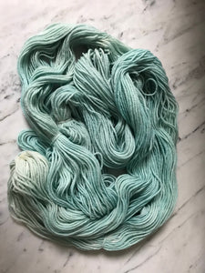 Mint Frappe Worsted Roberta Rae Michigan