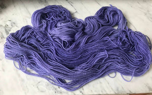 Winter Violet Worsted Roberta Rae Michigan