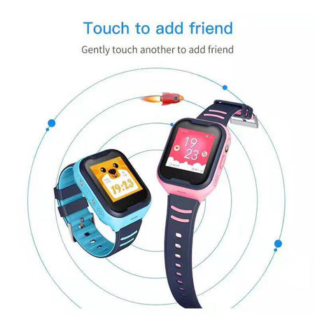 Kids Smart Watch with 4G GPS WIFI Tracking SOS Voice Chat